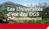 Universités d'Eté de l'ADGCF