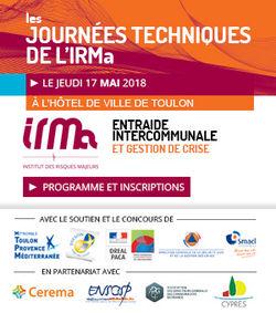 Journée technique IRMa 2018 : Entraide intercommunale et gestion de crise