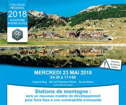 Colloque régional Auvergne / Rhône Alpes