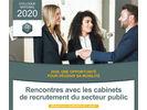 Rencontres avec les cabinets de recrutement du secteur public