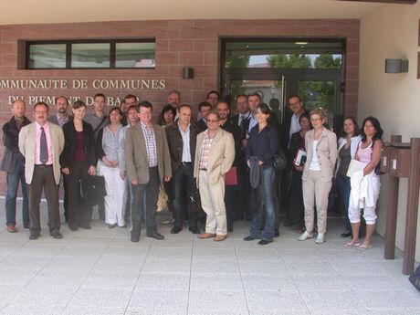 Rencontre régionale à la Communauté de communes du Piémont de Barr