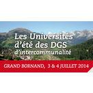 7èmes Université d'été des directeurs généraux d'intercommunalité