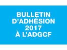 En 2017, adhérez à l'ADGCF !
