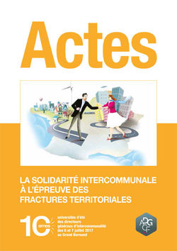 Actes des Universités d'Été 2017