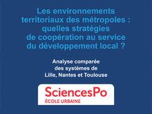 Les environnements territoriaux des métropoles