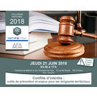 Le 21 juin 2018, l'ADGCF organisait un colloque de haut niveau pour un sujet à hautes responsabilés