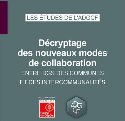 Décryptage des nouveaux modes de collaboration entre DGS des Communes et des Intercommunalités