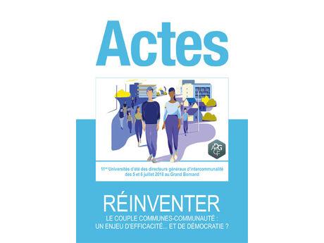 Actes des Universités d'Été 2018