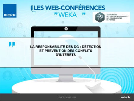 Retour sur la Web-conférence du 16 novembre