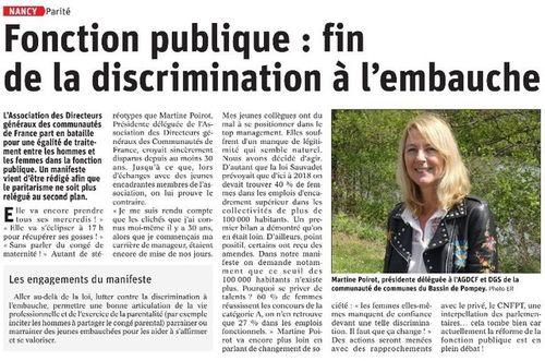 Fonction publique : fin de la discrimination à l'embauche