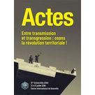 Actes des Universités d'Été 2019