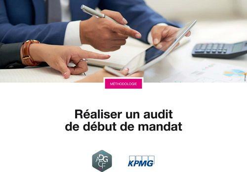 Réaliser un audit de début de mandat