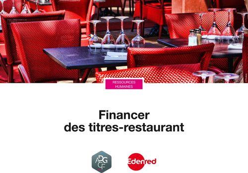 Financer des titres-restaurant