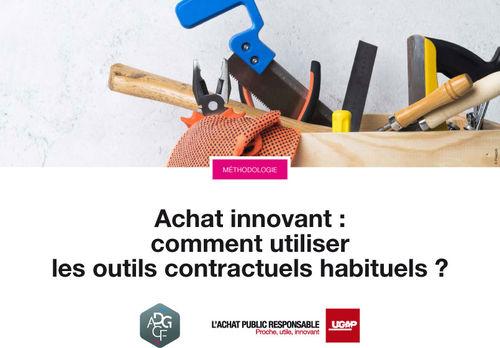 Achat innovant : comment utiliser les outils contractuels habituels ?