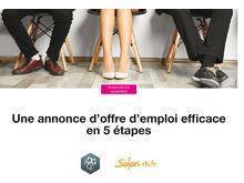Une annonce d'offre d'emploi efficace en 5 étapes