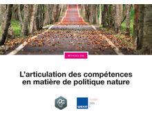 L'articulation des compétences en matière de politique nature