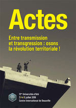 Actes des 12èmes Universités d'été de l'ADGCF